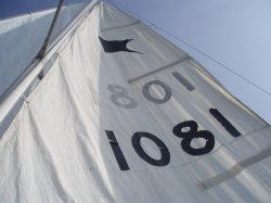 Hull and sail number