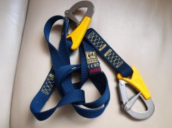 Lalizas Life-Link Double Hook Safety Line